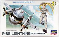 Hasegawa TH26 P-38 Lightning Eggplane (Egg Plane) Series