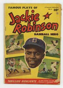Jackie Robinson #6 GD 2.0 1952