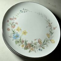 Set of 3 Premiere Fine China BERKSHIRE  MD104 Dinner Plates 10 1/4""