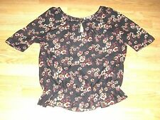 Boat Neck Casual Floral Tops & Shirts NEXT for Women
