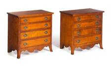 Pair Of American Hepplewhite-Style Child'S Chests. Lot 652