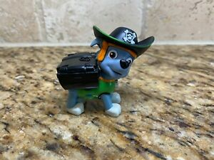 PAW PATROL Pirate Pup Action Figure ROCKY Collectible Pup HTF Green Dog