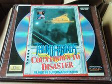 Thunderbirds Countdown To Disaster Laserdisc LD