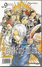 MANGA - D. Gray-Man N° 9 - Seconda Ristampa - Planet Manga - NUOVO