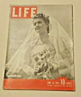 June 22, 1942 LIFE Magazine MARBLES MIBS 40s ads adds ad FREE SHIPPING 6 23 24