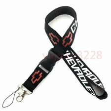 Car Logo Neck Strap Lanyard Keyring Key Chains Cellphone Cord Card for Chevrolet