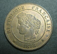 2 centimes 1878 A - CERES - III° REPUBLIQUE - Splendide