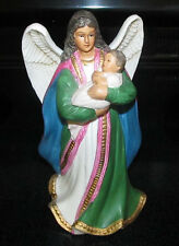 Homco Home Interior Ceramic Figurine 1436 Holiday Christmas Angel Home Decor