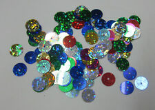 Maria George 10mm Round Flat Sequins For Craft & Sewing Embellishments