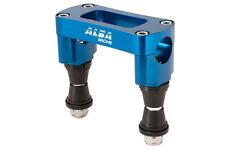 TRX 450R  400EX Handlebar Clamp Bar Anti Vibe Billet  1 1/8 Bar Clamp Alba   L