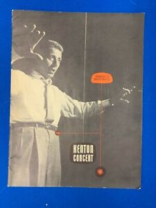 Stan Kenton 1950's Souvenir Jazz Concert Program