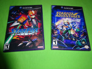 Empty Replacement Cases! Starfox / Star Fox Assault Adventure Nintendo GameCube