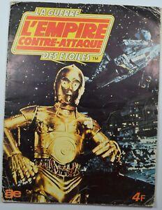 TRES RARE : Album l'empire contre attaque 1980 , COMPLET TBE