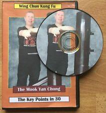 Wing Chun Wooden Dummy Dvd - Key Points in 30 mins - Muk Yan Chong/Mok Yan Jong