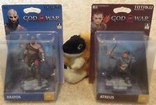 rare ATREUS KRATOS God Of War 4 TOTAKU FIRST PRINT STATUES collectors figures