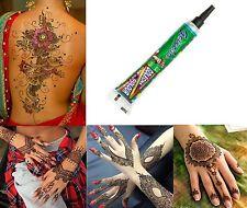 1 x Henna Paste Tube Golecha Grün 25g  Klinisch getestet Mehndi Tattoo Indien