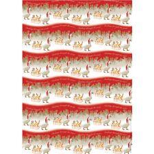 Christmas Wrap & Tags - Ducks Dashing Through The Snow (6 Sheets+Tags)