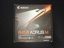GIGABYTE B450 AORUS M AMD Ryzen AM4/M.2 Micro ATX Motherboard mATX