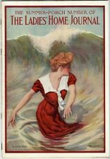 Ladies Home Journal 1909 Bathing Beauty Lettie Lane Paper Dolls Cream of Wheat