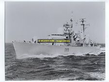 "La1247 - Royal Navy Warship - HMS Exeter D89 - photo 10"" x 8"" in 1986"