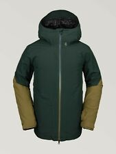 2020 NWT MENS VOLCOM RESIN GORE-TEX SNOWBOARD JACKET $340 L Dark Green