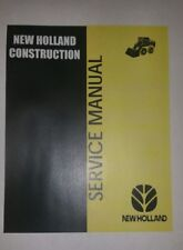 Cd New holland ls180 ls190 skid steer PRINTABLE 911 page service MANUAL on CD