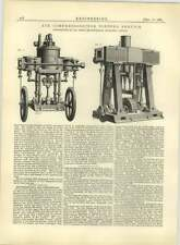 1883 Air Compressors For Torpedo Service, Peter Brotherhood London