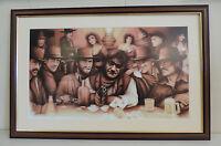 JOHN WAYNE CLINT EASTWOOD ROBERT REDFORD CHARLES BRONSON FIVE ACES COWBOYS MOVIE