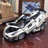 New 1/18 Bburago diecast Ferrari FXXK FXX K EVO open close car model white #70