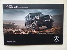 Mercedes-Benz G-Klasse - G 350 d Professional - Prospekt Brochure 06.2016