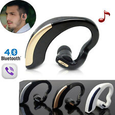 Wireless Bluetooth Stereo Headset Earphone Earpiece for Cell Mobile phones