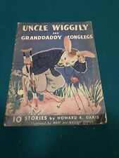 Uncle Wiggily and Grandaddy Longlegs Picture Book for children