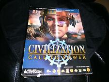 CIVILIZATION - CALL TO POWER -  Activision auf CD-ROM