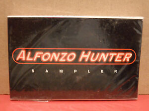 Alfonzo Hunter - Blacka Da Berry Sampler PROMO Cassette Rare R&B