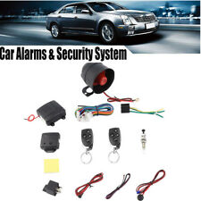 Anti-theft Alarm Remote Start Keyless Entry Vehicle Security Protective System