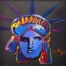 "PETER MAX ""LIBERTY HEAD"" 