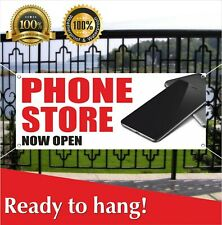 Phone Store Now Open Banner Vinyl / Mesh Banner Sign Grand Opening New Store