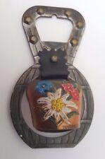 Austrian Souvenir Insbruk Cow Bell Bottle Opener
