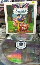 Walt Disney's -  Snow White & The Seven Dwarfs Laserdisc NTSC  FREE SHIPPING