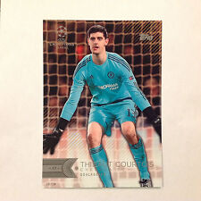 THIBAUT COURTOIS #157 Chelsea FC #ed/10 Made 2016 Topps Champions UEFA 5X7 GOLD