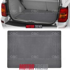 Eco Friendly Rubber Polymer Trunk Liner Cargo Mat MOTORTREND in Gray
