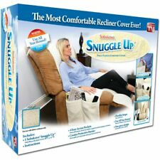 Snuggle Up Fleece Comfort Recliner Cover with Pockets