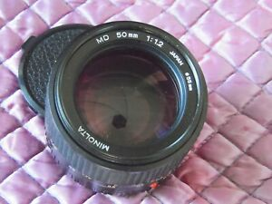 Minolta 50mm f1.2 MD Lens for 35mm SLR Camera MINTY