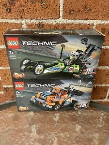 Brand New LEGO Technic 42103 & 42104—Dragster And Race Truck@ Bundle