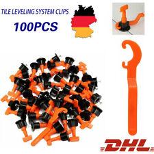 100 Fliesen Nivelliersystem Verlegehilfe Verlegesystem Leveler Bodenbau Werkzeug