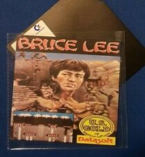 """BRUCE LEE : floppy disc 5,25"""" per COMMODORE 64  test ok C64 game (read before)"""