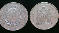 FRANCE / 50 FRANCS - 1977 / SILVER COIN