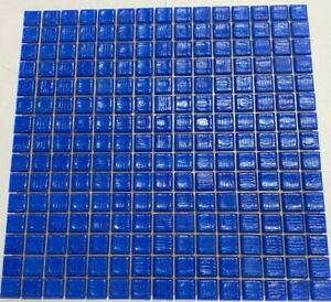 Bisazza MOSAIC Tiles Blue 20.59 Mosaic 2.07m2 Box £96m2 new sealed (178 Sheets)