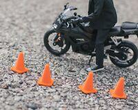 Set of 4 Traffic Cones DIORAMA PROPS ONLY Mezco, Marvel Legends 1/12