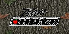 Team Hoyt Banner Full Color Vinyl Bow Shop Display Sporting Good Archery Mancave